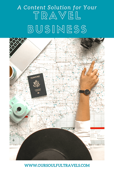 Travel Business, A Content Solution for Your Travel Business