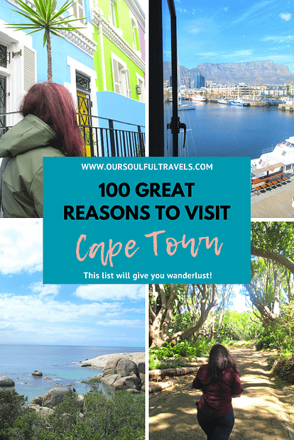 Cape Town, 100 Great Reasons to Visit Cape Town