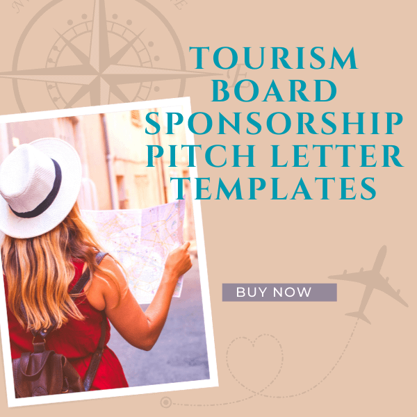 Tourism Board Sponsorship Pitch Letter Template