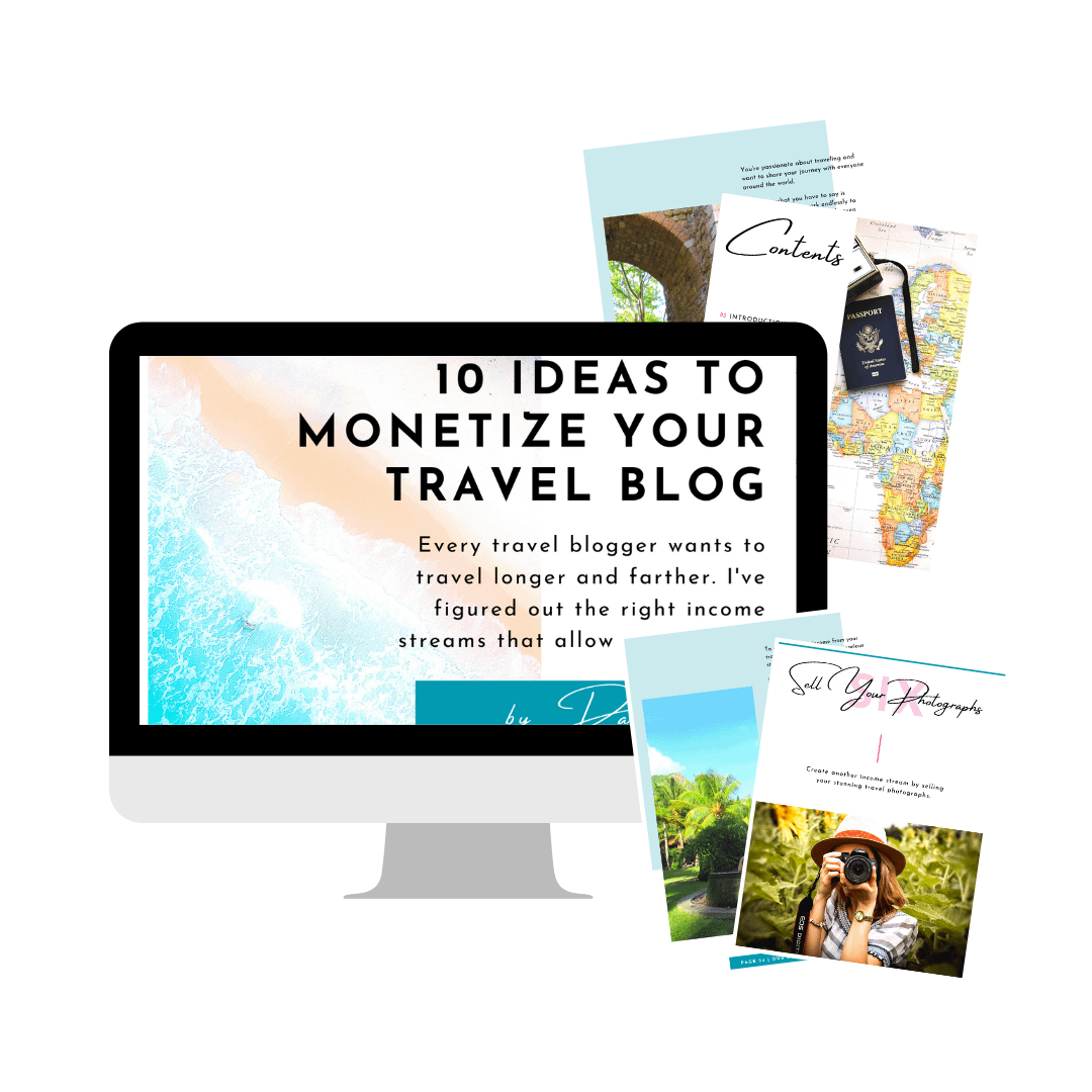 10 Ideas to Monetize Your Travel Blog