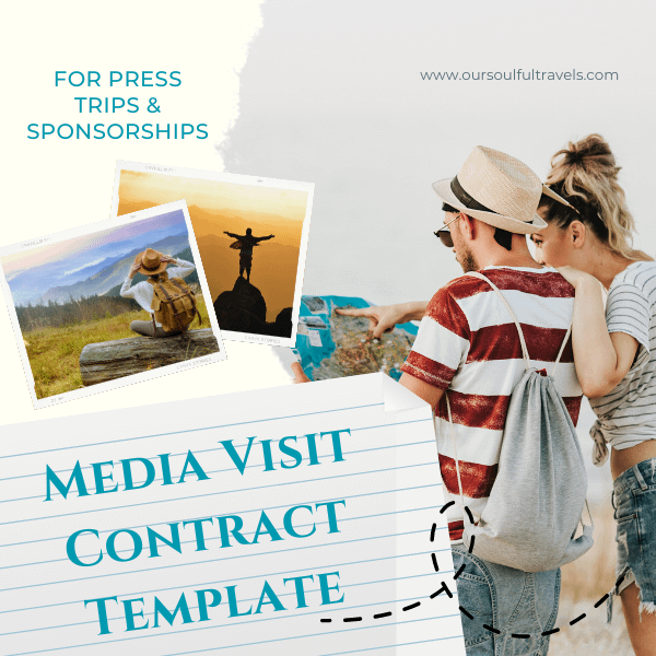 Media Visit Contract Template